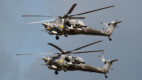 Глава «Ростеха»: наши вертолёты — самые популярные в мире