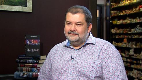Сергей Лукьяненко: я читаю фантастику как профессионал